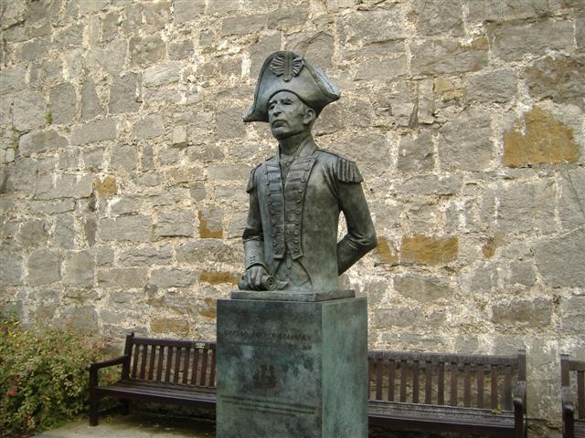 Statue of Captain John Quilliam RN