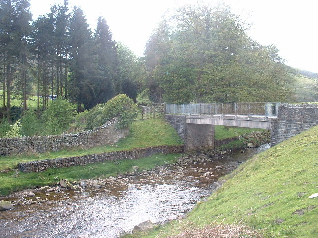 The bridge at Hareden, Trough of Bowland