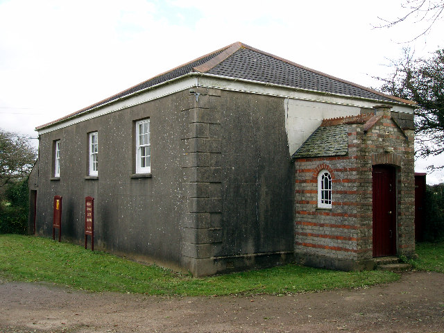 Billy Bray's 'Three eyes' chapel on Kerley Downs