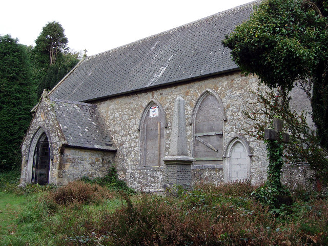 The disused church of St Michael and All Angels, Baldhu
