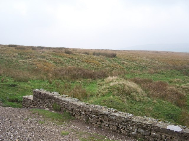 Moorland above Whaw