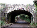 SW7841 : Railway bridge on the Falmouth to Truro branchline by Sheila Russell