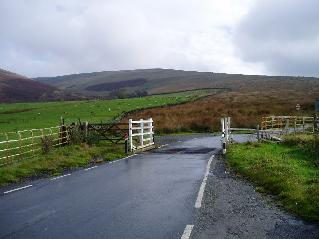 Cattle grid - Pendle Hill