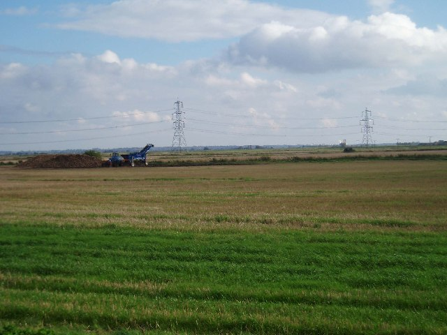 Looking over the Fens: Well Moors.