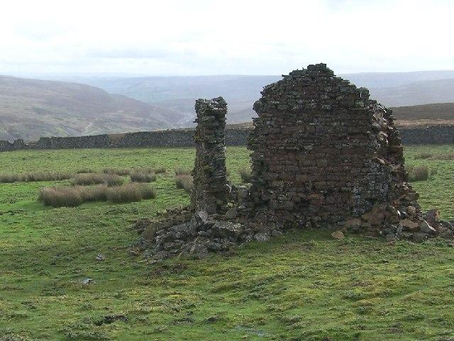 Moor House ruins