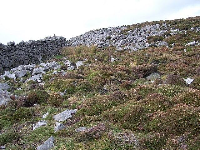 Stoops Rigg- stony terrain