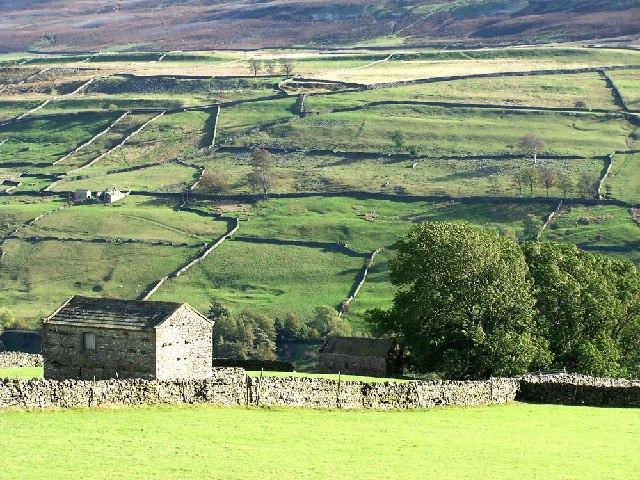 Barn above Low Row