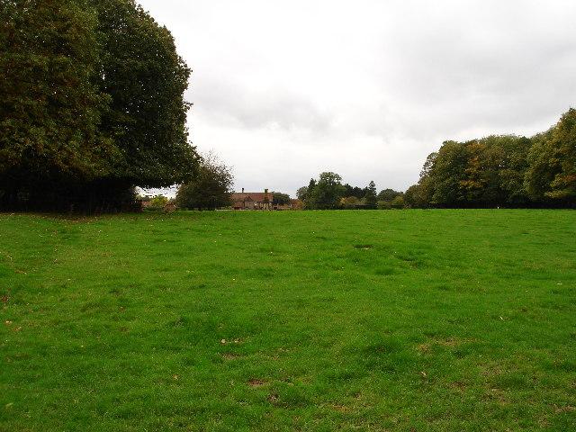 View to Studham Hall Farm