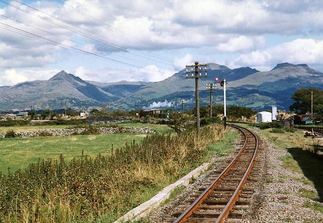 Porthmadog: Welsh Highland Railway