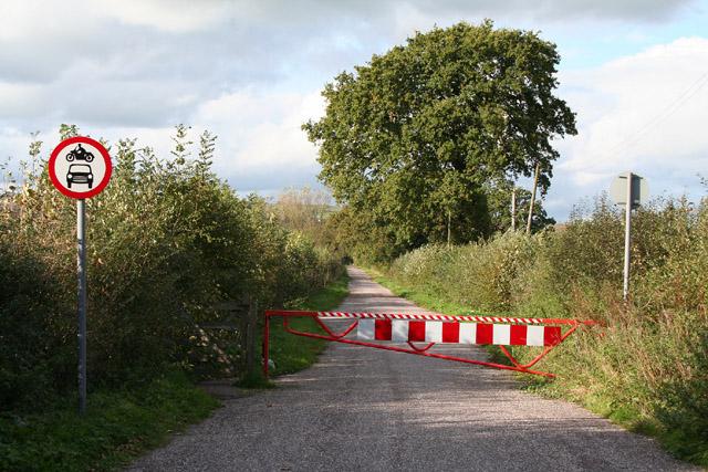 Burlescombe: lane near Leonard Moor Cross