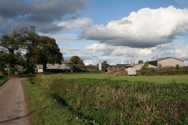 Burlescombe: Houndaller Farm