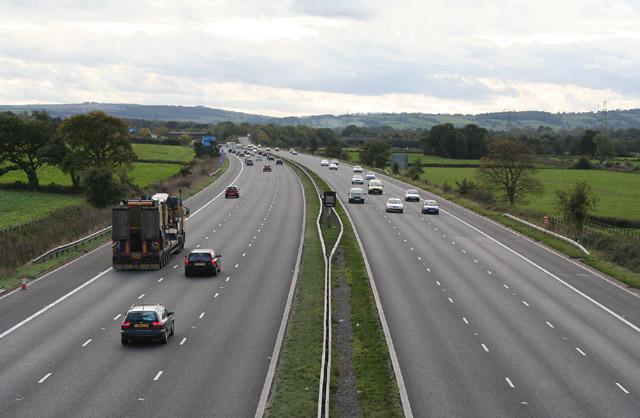 Burlescombe: M5 Motorway
