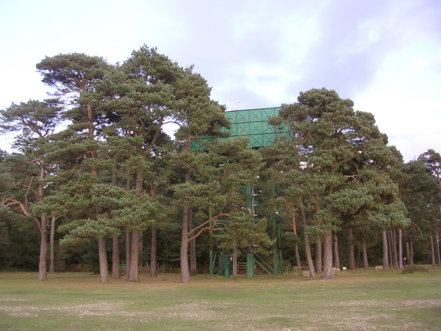 Water Tower at Roundhill Campsite, New Forest