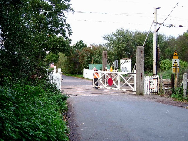 Crossing at Chitts Hill