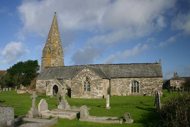 Parish church of Cubert: St Cubert