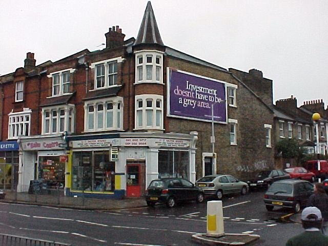 Shops - Brockley Road