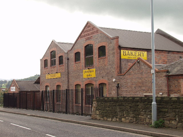 The old Cefn & District Co-op bakery