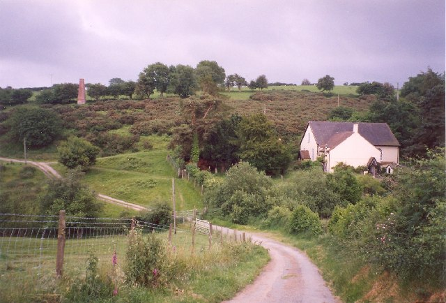 Lords Hill Baptist Chapel and Cottage, Snailbeach, Worthen with Shelve CP