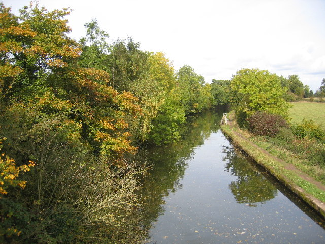 Grand Union Canal near Kixley