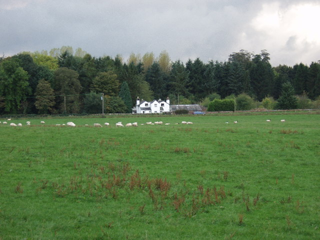 House and outbuildings near Chirk