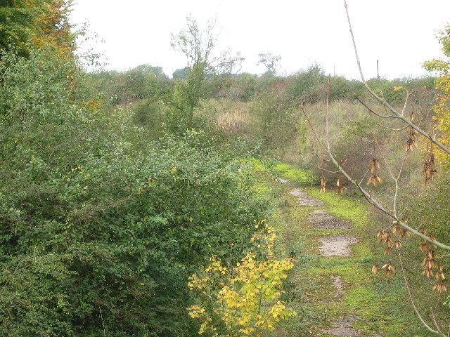 Old Railway track near Stoke Rochford
