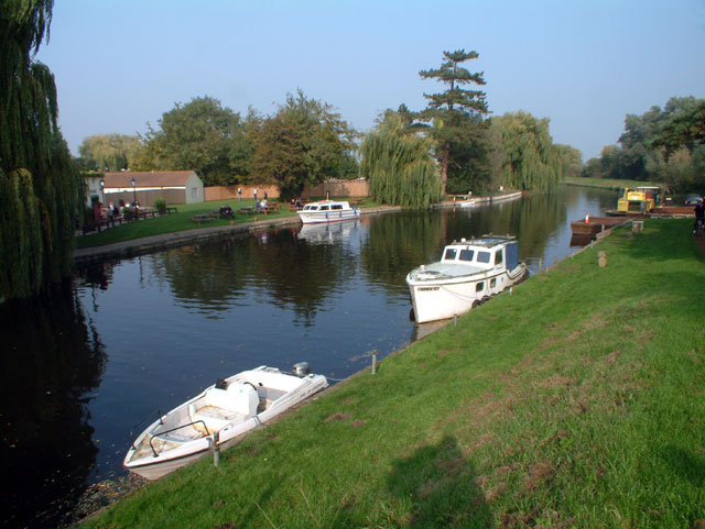 The river Cam at Clayhithe CB5