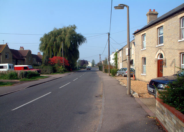 Road towards Over, Willingham CB4