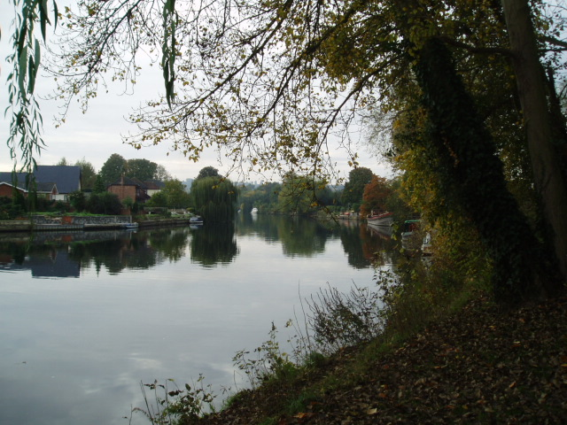 The River Thames, near Old Windsor