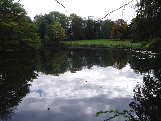Lake in the middle of a Walsall housing estate