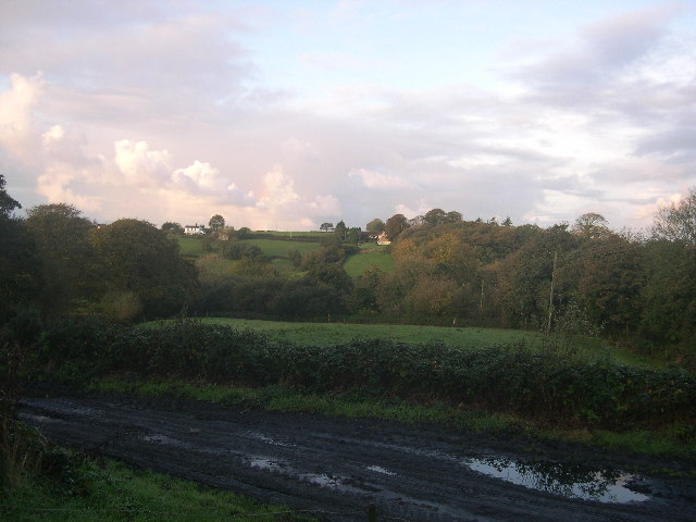 View from Grove Cottage to Pisgah Farm