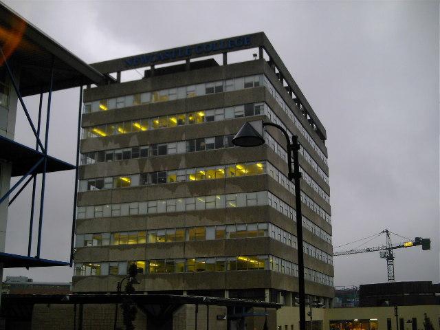 Newcastle College, Parson's Building