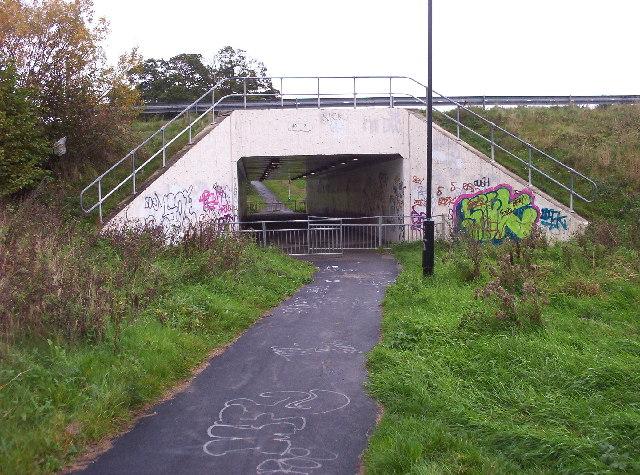 Subway under A696