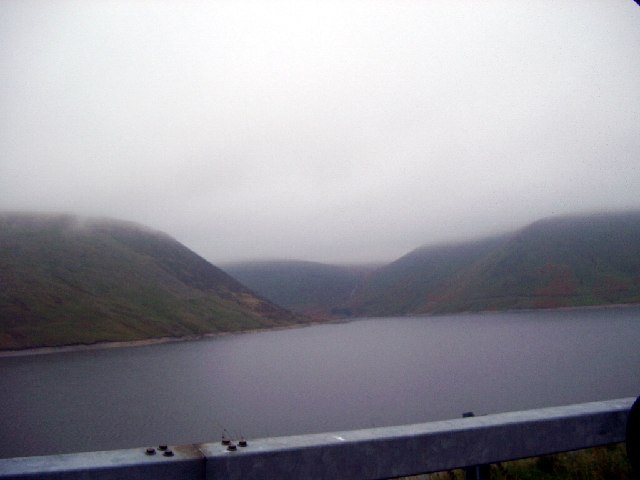 Bay on Meggat Reservoir