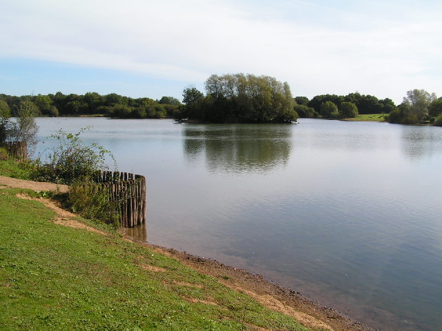 Barden Lake from the North