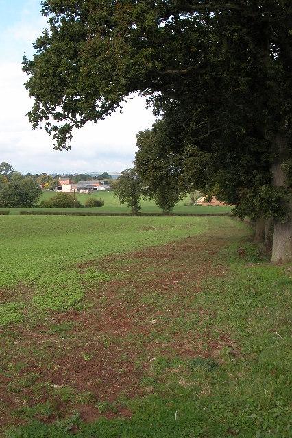 Normans Land Farm near Dymock
