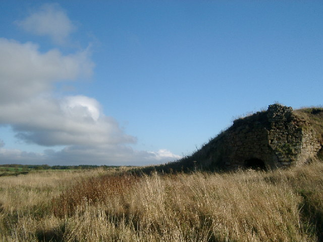 Old Limekiln near Gladhouse Reservoir