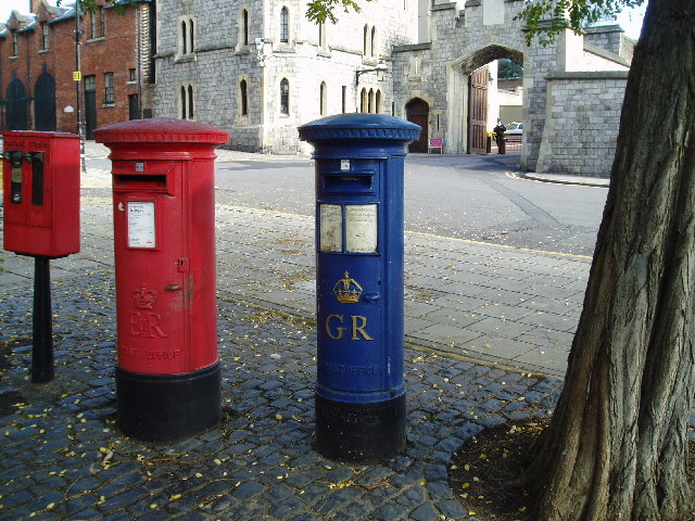 King George V Commemorative Postbox, Windsor