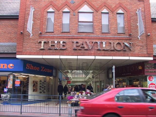 The Pavilion Arcade, Tonbridge High Street