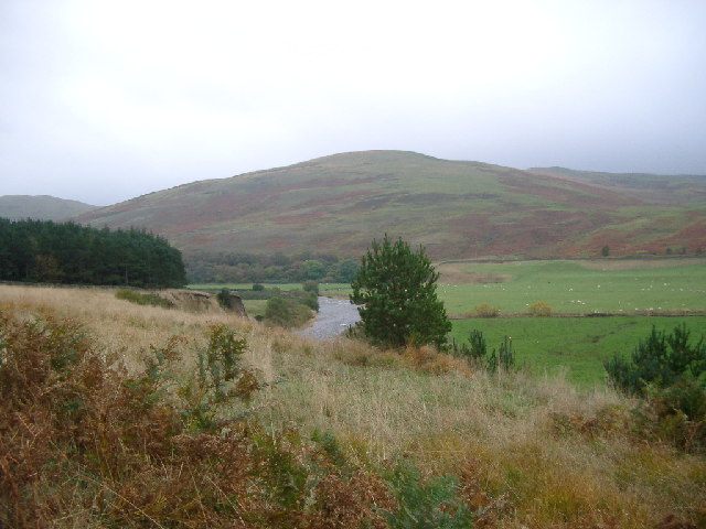 Sundhope Height and the Yarrow Water