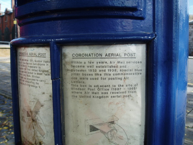 King George Commemorative Postbox, Windsor