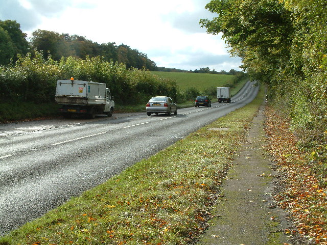 A 246 near West Horsley