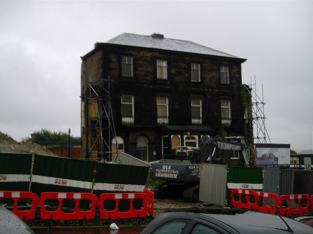 Demolition of the Old Music Block
