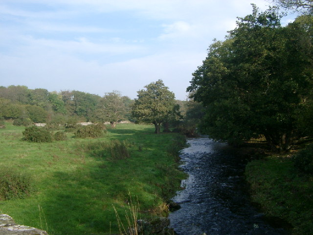 Abbey Burn from Port Mary bridge