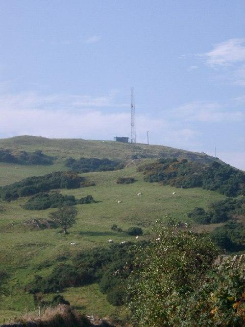 Radio Mast near Craigton Row, Gelston