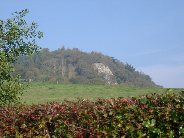 Crag on Court Hill, Palnackie