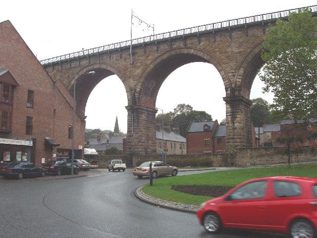 Railway viaduct, Durham