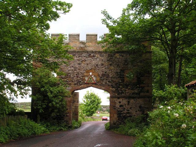 Gateway, Dunstan village