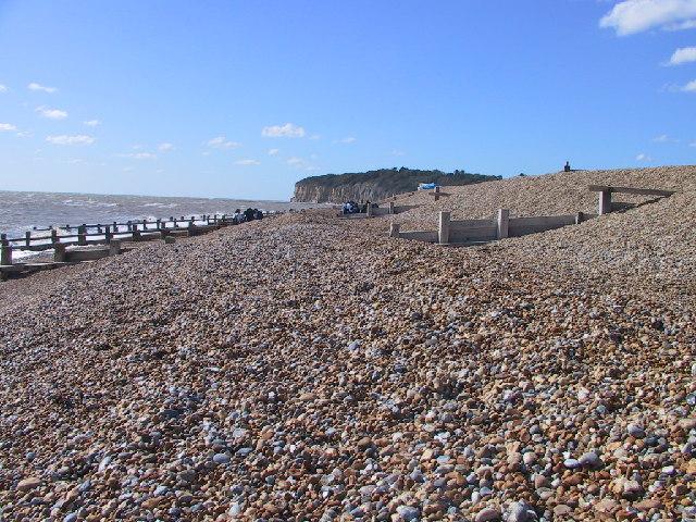 Beach & Groynes, Pett levels