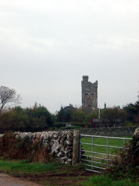 Tower at Roberton Farm nr Borgue