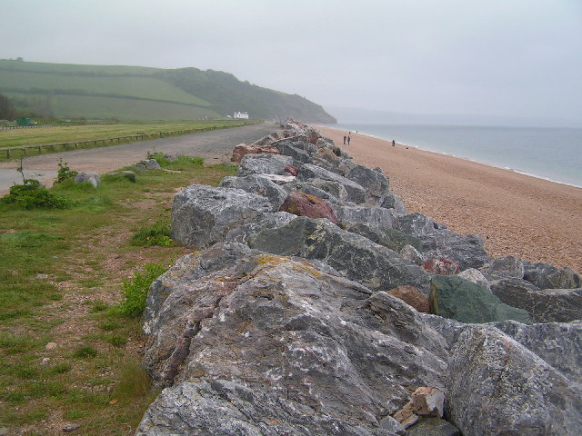 Rip Rap at Beesands